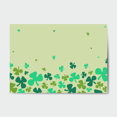 St. Patrick's Day background vector Ilustrace