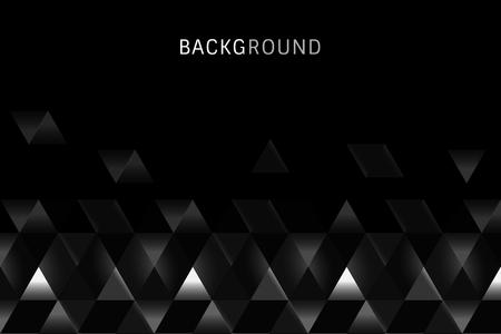 Vecteur de conception de fond de prisme noir