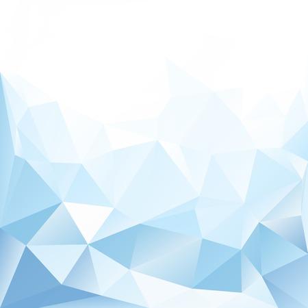 Fondo con textura de cristal azul y blanco Ilustración de vector