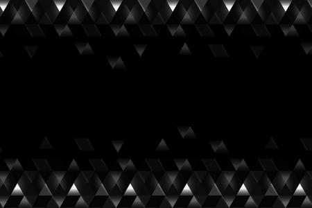 Black prism background design vector