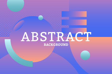 Colorful geometric abstract patterned background vector Stock Illustratie