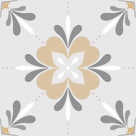 Seamless bathroom tile pattern vector Vettoriali