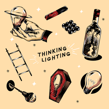 Creative thinking and new ideas concept vector Stock Vector - 118067995