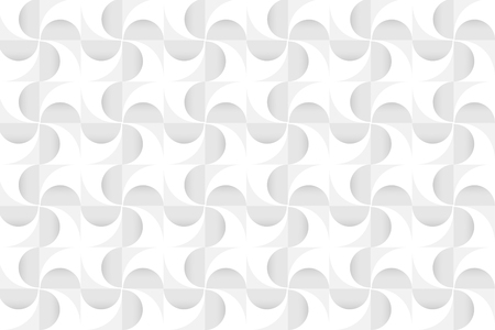 White geometric background design vector