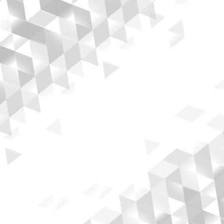 Vecteur de conception de fond de prisme blanc