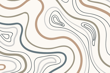 Swirly element patterned vector background set