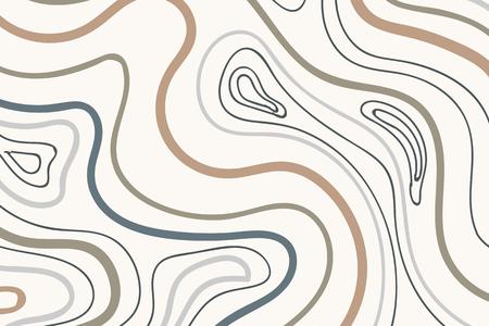 Swirly element wzorzyste tło wektor zestaw Ilustracje wektorowe