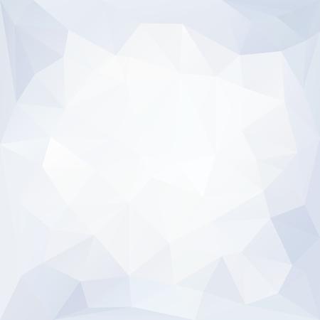 Strukturierter Hintergrund mit blauem und weißem Kristall Vektorgrafik