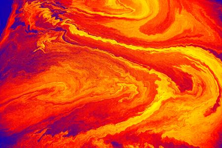 Reddish orange oil paint textured background