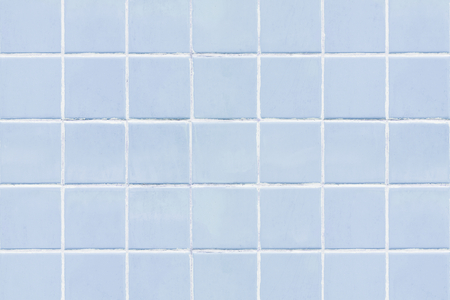 Pastel blue tiles textured background Archivio Fotografico