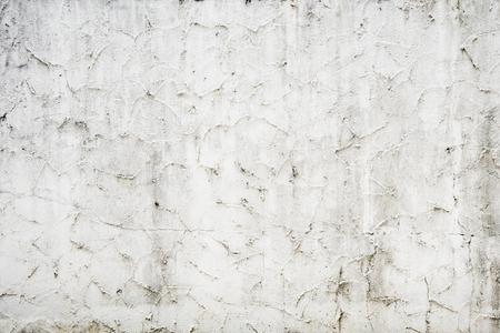 Rustic grunge white concrete textured background