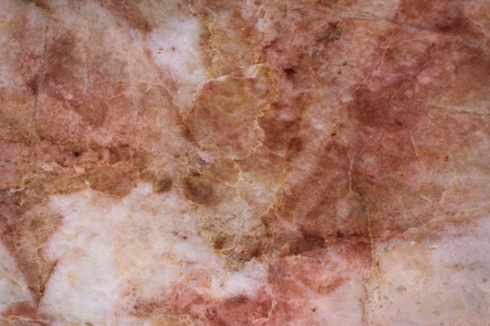 Brown cracked marble textured background Stock Photo