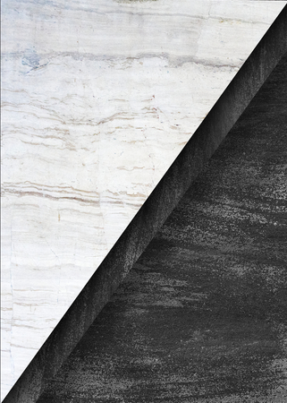 Black and white marble textured background