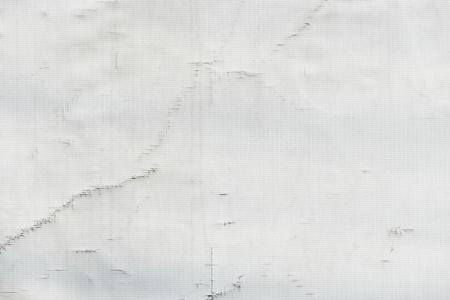 White recycled truck tarpaulin texture
