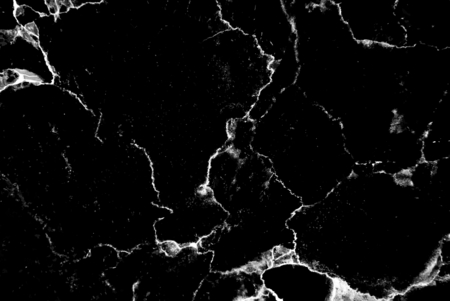 Abstract black and white marble textured background Stock Photo