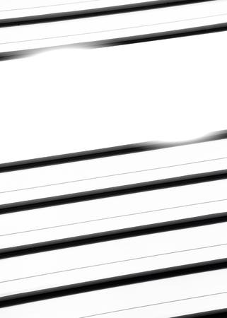 Black stripes on white background