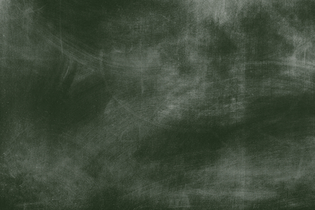 Green rustic blank chalkboard background Stockfoto