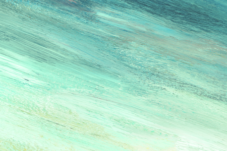 Blue painted abstract textured background Imagens