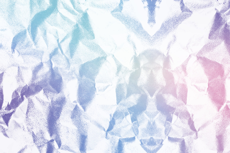 Colorful crumpled paper textured background