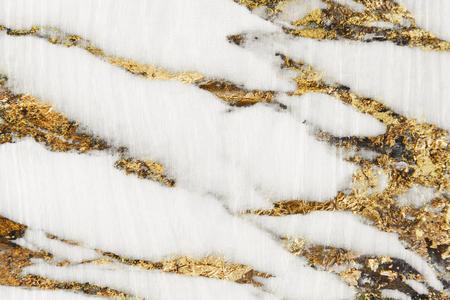 Golden marble textured background design Foto de archivo - 118569067