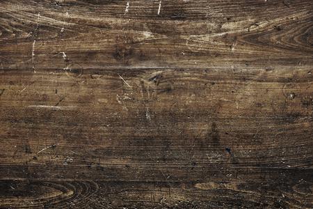 Rustic brown wooden textured flooring background Standard-Bild - 118068290