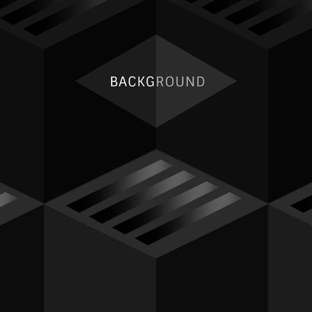 Black modern background design vector Illustration