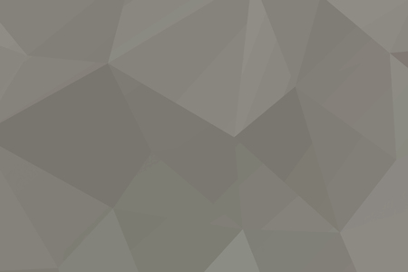 Abstract beige mosaic polygon surfaced background  vector