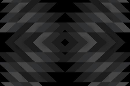 Black modern background design vector  イラスト・ベクター素材