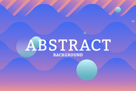 Colorful geometric abstract patterned background vector