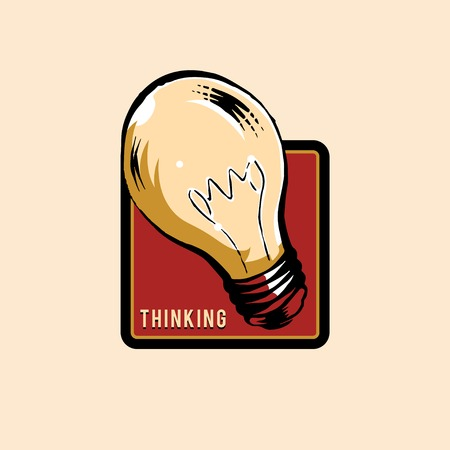 Creative thinking and new ideas concept vector Stock Vector - 124609910