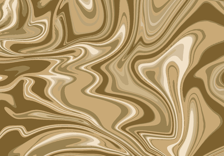 Marble abstract brown paint texture background vector