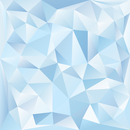 Blue and white crystal textured background