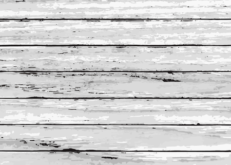 Rustic white wooden textured background vector