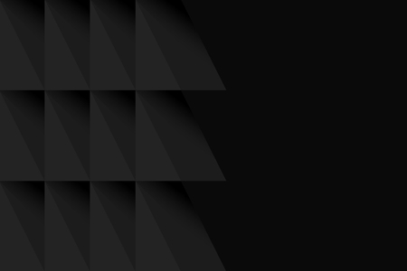 Black modern background design vector Illusztráció