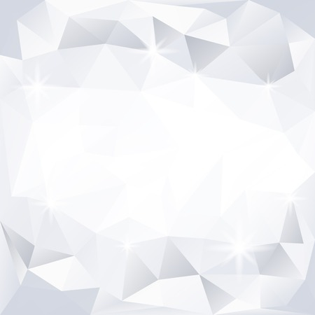 Gray and white crystal textured background