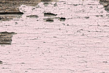 Rustic pink wooden textured flooring background Banco de Imagens