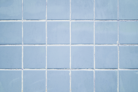 Pastel blue tiles textured background 스톡 콘텐츠