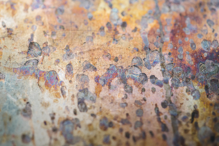 Weathered metal textured background design