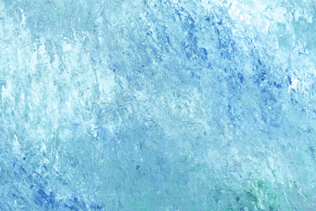 Blue brush stroke textured background vector