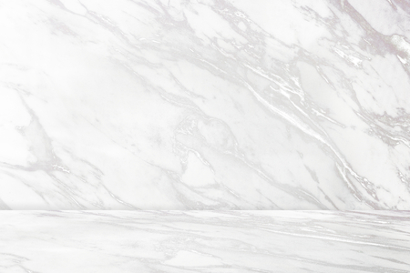 White marble pattern product background Stock Photo