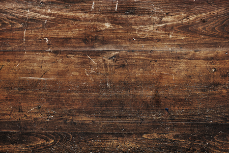 Rustic brown wooden textured flooring background