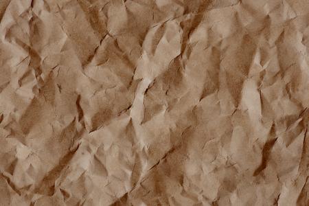 Vintage crumpled paper textured background 写真素材 - 118627105