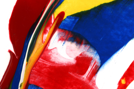 Colorful abstract acrylic painting background Reklamní fotografie