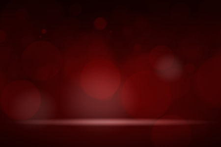 Red bokeh textured plain product background Stockfoto