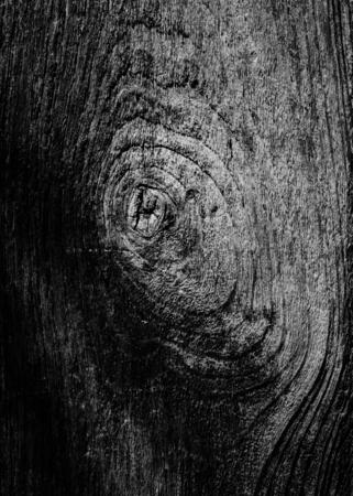 Dark gray wooden textured background Imagens
