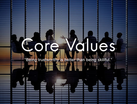 Core Values Goals Mission Business Purpose Concept