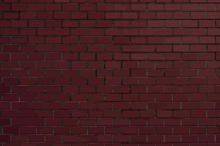 Dark red brick textured background vector