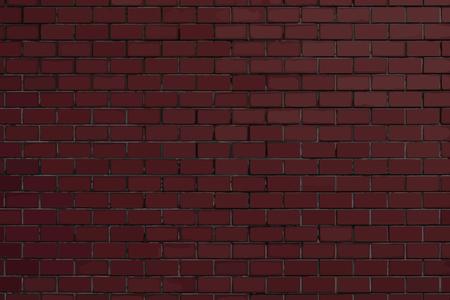 Dark red brick textured background vector
