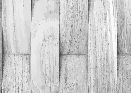 Rustic white wooden textured background vector Vector Illustratie