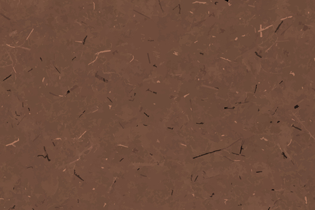 Brown mulberry paper textured background vector